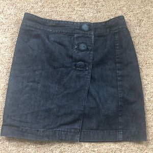 Denim Ann Taylor skirt